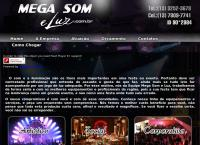 Site do Mega Som