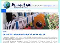 Site do Terra Azul Educação Infantil