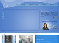 Site do Apollo Comercio de Vidros Ltda
