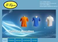 Site do Fábrica de Camisetas El Elyon