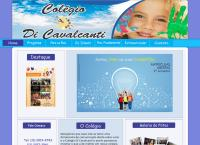 Site do Colégio Cavalcanti