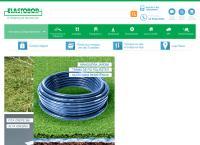 Site do Elastobor Borrachas E Plásticos Ltda - Socorro