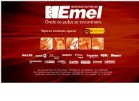 Site do Emel Materiais Elétricos - São Geraldo