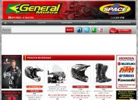 Site do General Motos Comércio De Motopeças Ltda - Santa Efigênia