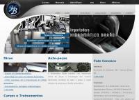 Site do Auto Peças Hidramático Barão