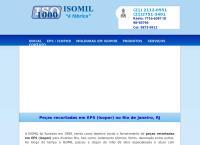 Site do Isomil Indústria e Comércio de Plásticos Ltda