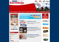 Site do Karne Keijo Logística Integrada Ltda