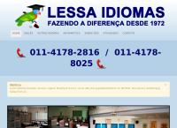 Site do Lessa Idiomas