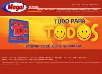 Site do Lojas Magal De Utilidades - Taquara