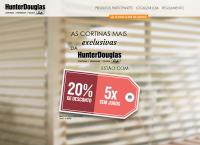 Site do Luxaflex Persianas