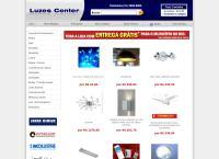 Site do Luzes Center Lustres - Benfica