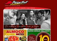Site do Pizza Hut