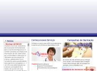 Site do Pro Imune Centro De Imunização - Vila Dora