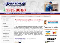 Site do M V Serviços Ltda