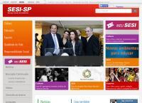 Site do Serviço Social Da Indústria-Sesi
