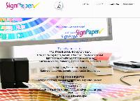 Site do Signpaper Comercio e Serviços Ltda