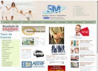 Site do Sm Análises Clínicas