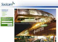 Site do Socicam Administração Projetos E Representações Ltda