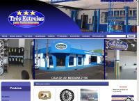 Site do Auto Center Três Estrelas
