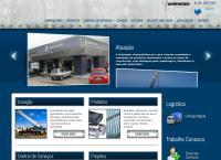 Site do Unimetais Comércio Ltda