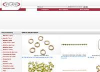 Site do Indústria Bijouterias Vilani Ltda