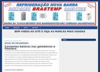 Site do Refrigeração Nova Barra