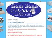 Site do Bom Sono Colchões