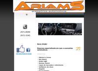 Site do Ariam S Peças e Acessórios Ltda
