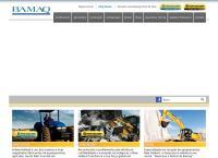 Site do Geoscava Locação de Máquinas e Equipamentos Ltda