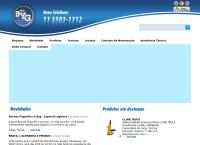 Site do Byg Transequip Ind e Com de Empilhadeiras Ltda