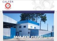 Site do Calfer Usinagem Industrial Ltda