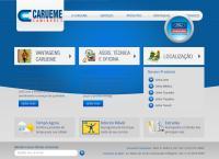 Site do Carueme Caminhões Ltda
