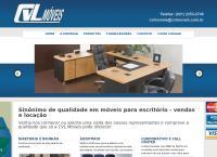 Site do Cvl Comércio de Móveis e Máquinas Ltda
