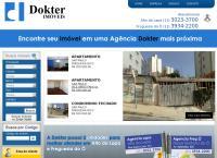 Site do Dokter Imóveis Ltda