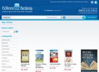 Site do Editora Betânia S/C Ltda