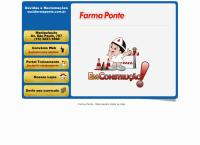 Site do Farma Ponte
