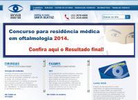 Site do Hospital Oftalmológico Santa Beatriz S/C Ltda