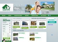 Site do Imobiliária Castor Imóveis