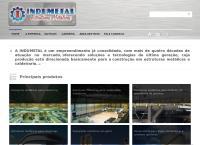 Site do Indumetal Indústria Mecânica e de Estruturas Metálicas Ltda