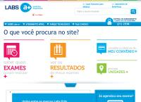 Site do Rede Labs d Or
