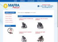 Site do Mafra Medical
