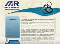 Site do Mult Rubber Vedações Industriais Ltda