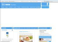 Site do Nestlé Waters Brasil Bebidas e Alimentos Ltda