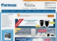 Site do Purimax Indústria e Comércio Ltda