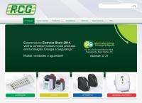 Site do Rcg Tecnologia Eletromecânica Ltda