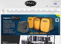 Site do Rmv Instrumentos Musicais Ltda