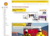 Site do Shell Brasil S/A