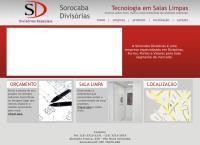 Site do Sorocaba Divisórias e Forros