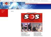 Site do SOS Vigilância Patrimonial S/C Ltda