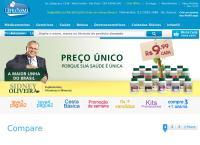 Site do Ultrafarma Saúde Ltda